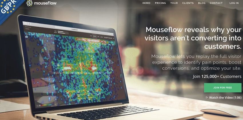 Conversion Sciences Podcast with Mouseflow, a user-behavior analytics tool.