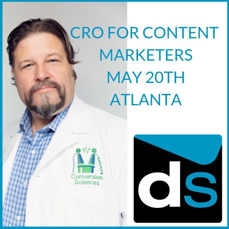 CRO for Content Marketers - Atlanta