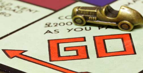 Monopoly game board. Discover how to optimize for scarcity and grow your business.