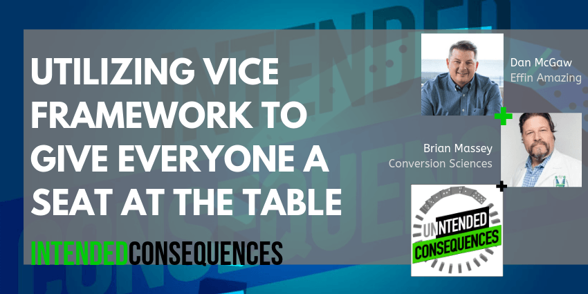 How to Build a MarTech Stack with Dan McGaw • Utilizing the Vice Framework for Marketing Stacks with Dan McGaw Intended Consequences Podcast. Click to listen to the mistakes marketers make in their stacks.