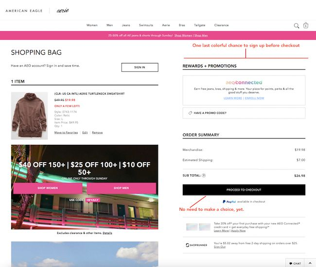 Guest Checkout Tactics to Grow Ecommerce Sales | Conversion