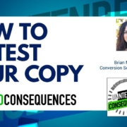 How to AB Test Your Copy with Olivia Ross on the Intended Consequences Podcast