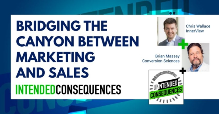 Bridging the Canyon between marketing and sales