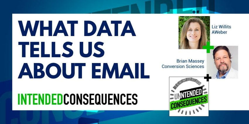 What data tells us about email with pictures of liz whillits and brian massey