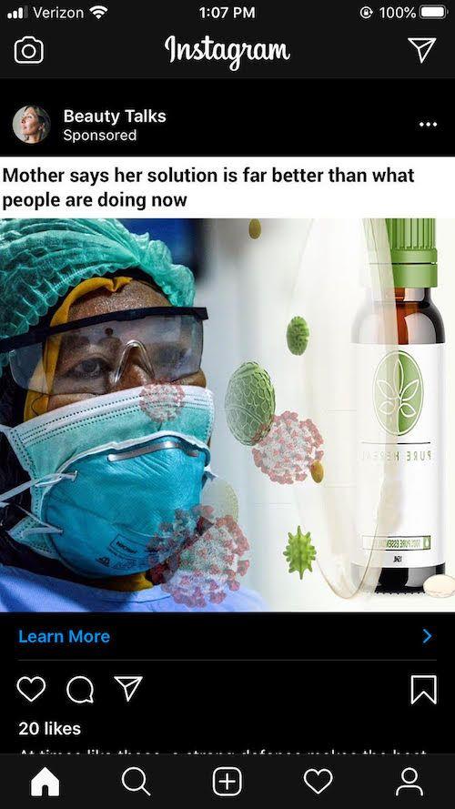 Not so Smart Ecommerce Strategies: Pure Herbal bad corona virus example Bobby Hewitt