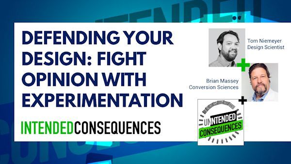 Defending your design with pictures of Tom Niemeyer and Brian Massey