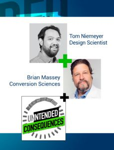 pictures of tom niemeyer and brian massey of conversion sciences