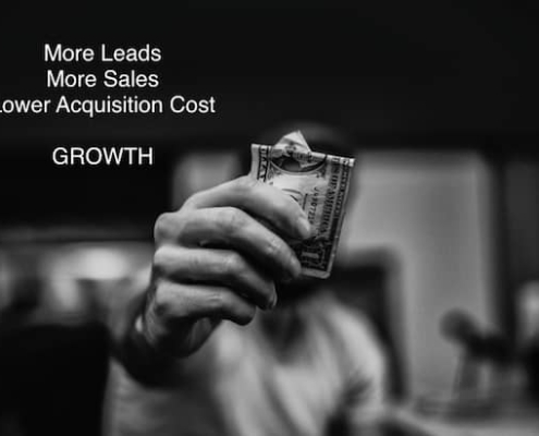 Being able to take more risks, a CRO expert can get more leads, more sales, and lower acquisition costs.