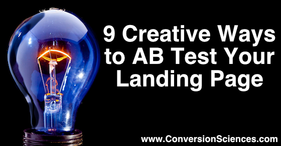 9 creative ways to ab test your landing page