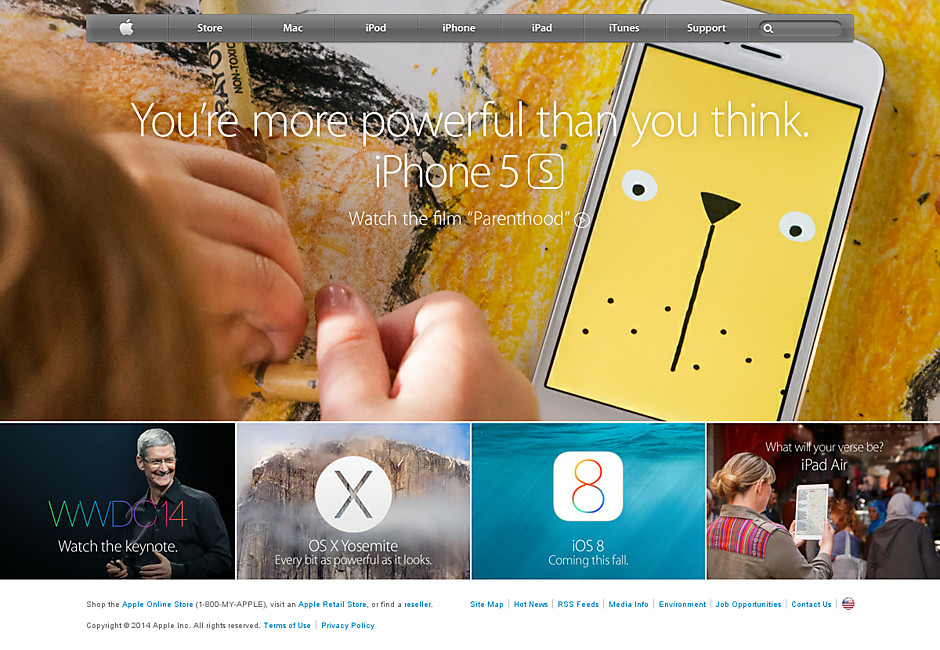 Apple's story appealing to parents