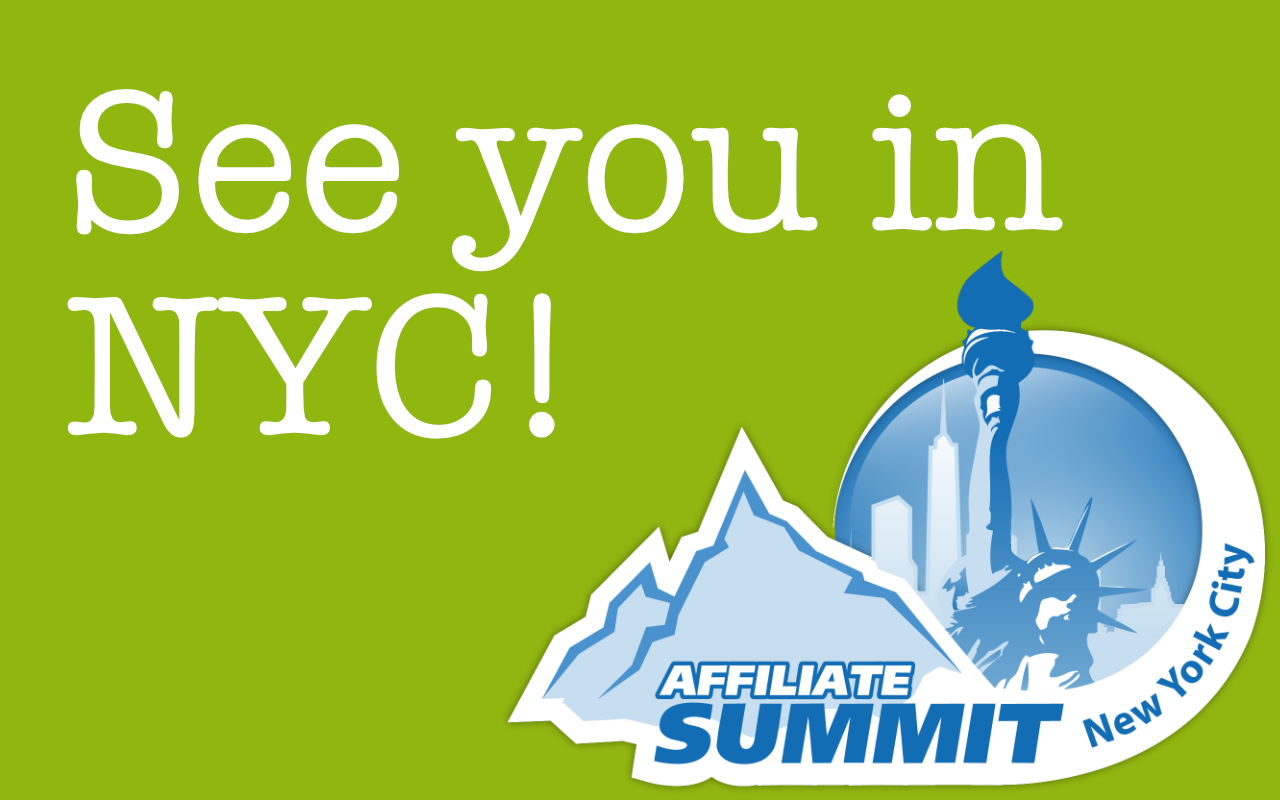 Join us in NYC for Affiliate Summit East