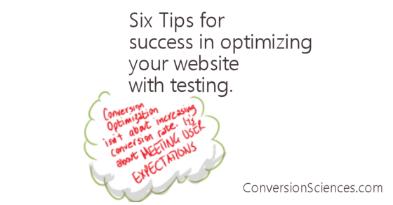 Six tips for optimizing your website using AB Testing