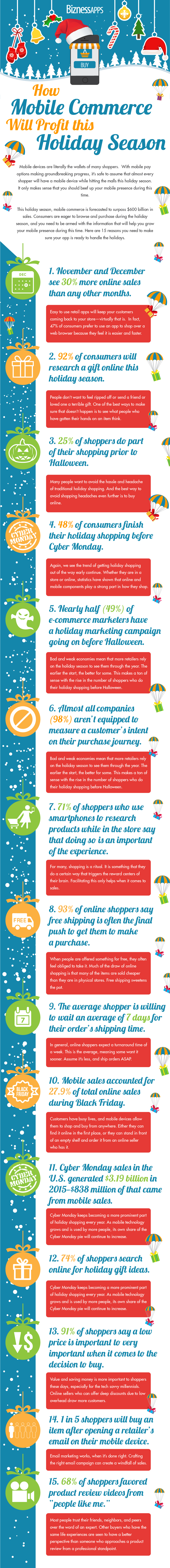 Bizapps Holiday Infographic