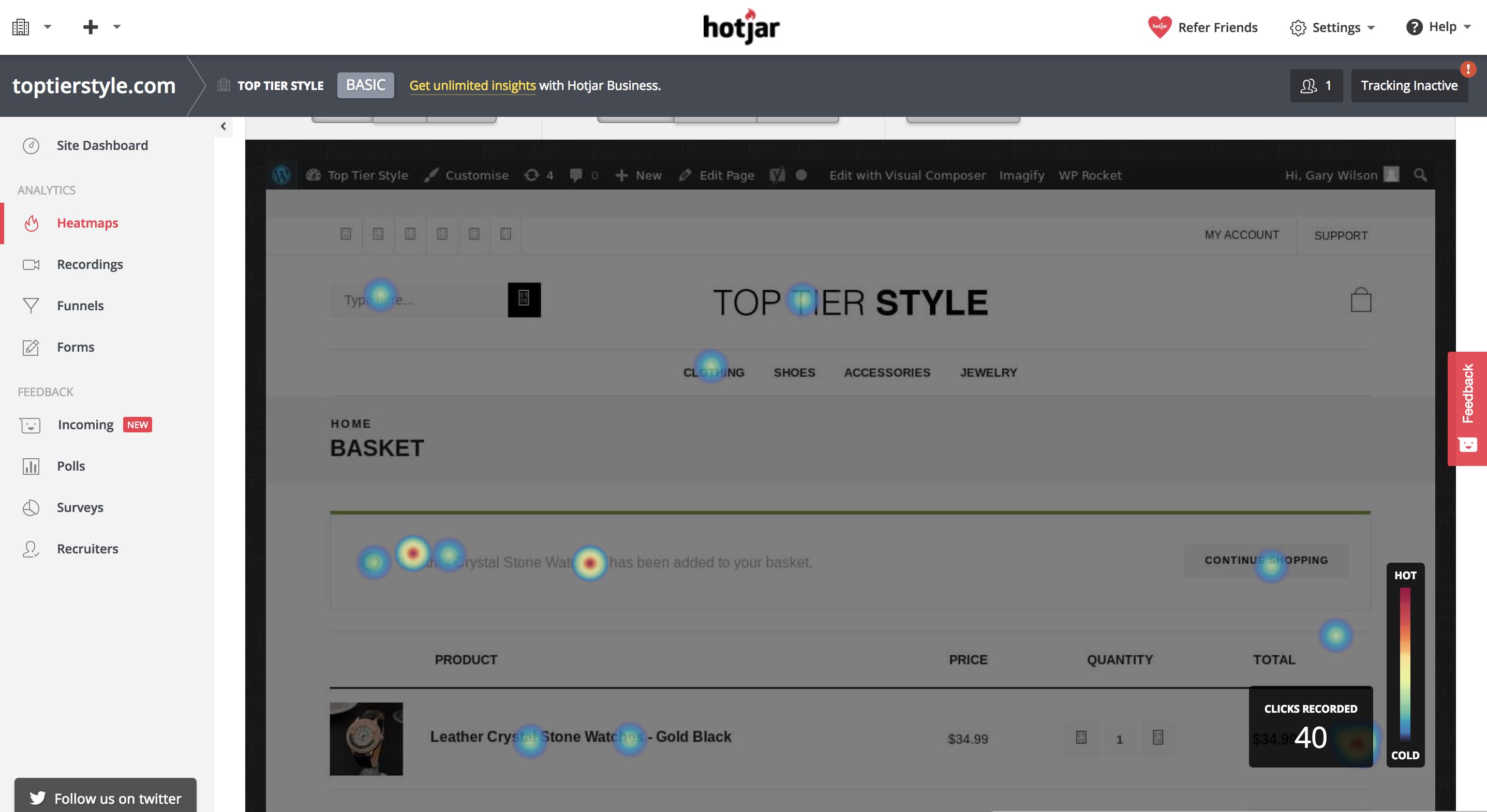 Converting Customers in the Fashion Niche_Heatmap