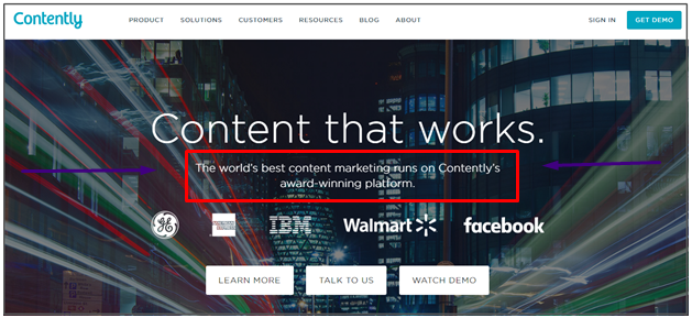 Really? Does the world's best content marketing actually run on Contently?