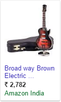 PPC ad for Guitar