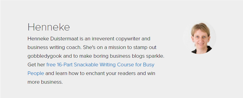 how to write an author bio 7 byline examples turning readers into