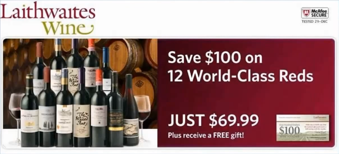 Laithwaites Savings