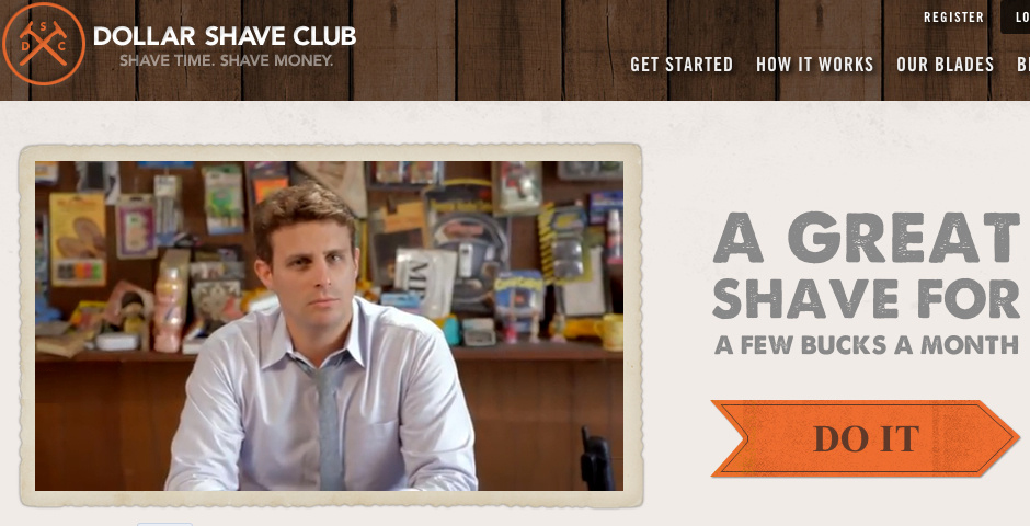 Tagline Examples: Dollar Shave Club's tagline is the perfect pun