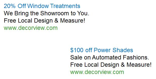 Adwords Ad