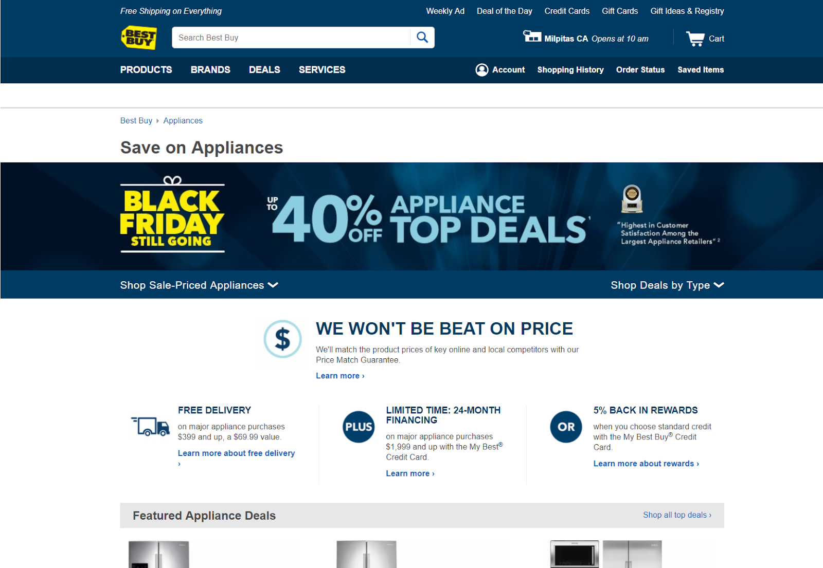 Retail Conversion Lessons: Best Buy makes the best parts of their value proposition obvious.