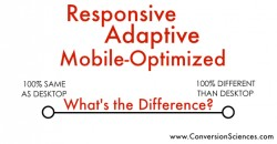 Responsive and adaptive mobile sites
