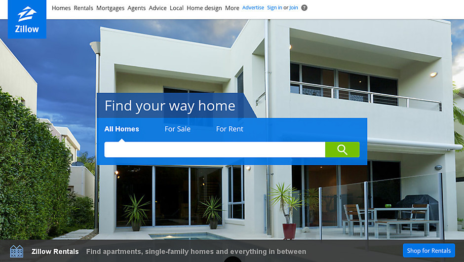 Zillow's new image says home whether you're buying or renting